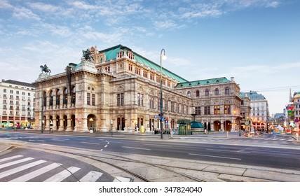 Vienna Opera house, Austria