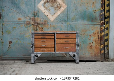 Vienna and Prag art industry, mid-century furniture, industrial design items and old gymnastics equipment