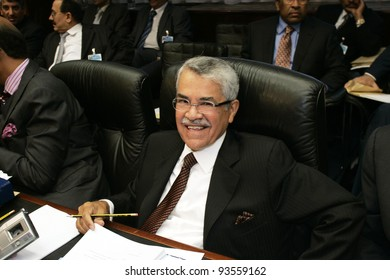 VIENNA - SEPT 11: Ali I Naimi, Saudi Arabian oil minister, speaks at the start of the 145th meeting of the Organization of Petroleum Exporting Countries (OPEC) in Vienna, Austria, on Tuesday, September 11, 2007.
