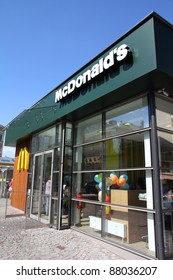 VIENNA - SEPTEMBER 6: McDonald's restaurant on September 6, 2011 in Vienna. With net income of USD4.9bn in 2010, it is the top fast food chain worldwide.