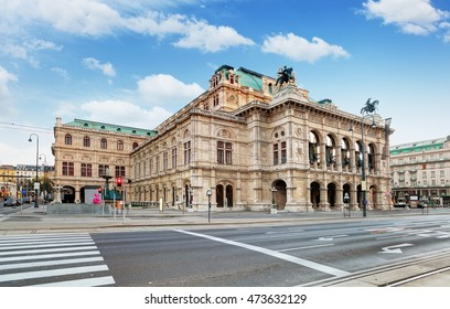 Vienna State Opera House, Staatsope, Austria