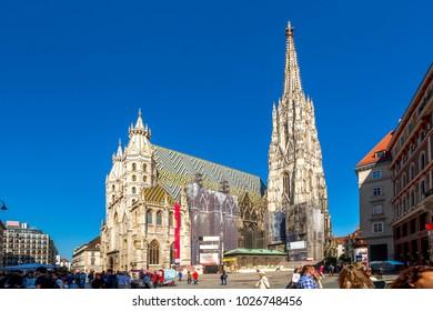 Vienna, Stephansdom, Austria