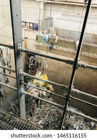 vienna/austria-06/02/2019 photo from recycling facility in vienna