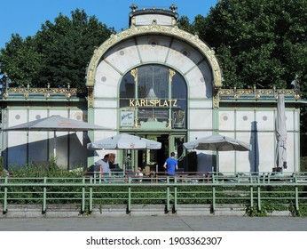 viennaaustriamay-2014-facade-famous-metr