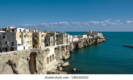 Vieste is a coastal town in the province of Foggia which is surrounded by the Adriatic Sea, part of the Gargano Promontory. Puglia Italy