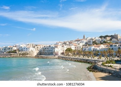 Vieste, Italy, Europe - Historic central city of the beautiful town called Vieste