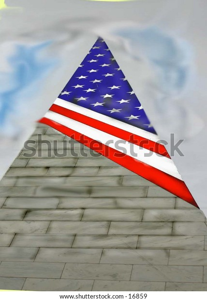 viet nam memorialblad hill n. y. american flag monument