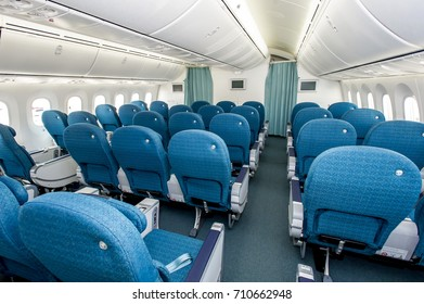 Vietnam Airlines aircraft, 30 Sep 2016 - Interior of Premium economy class of Vietnam Airlines B787 Dreamliner aircraft