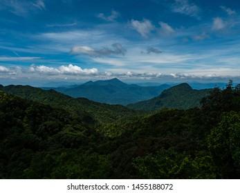 vietnam Bach ma national park view