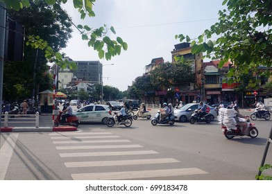 Vietnam cities, villages, town, railways, May 2017, people live in town