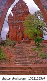 Vietnam, Da Lat, Po Klong Garai ancient Hindu Temple (Ninh Thuan Province).
