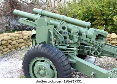 Vietnam era M101 howitzer