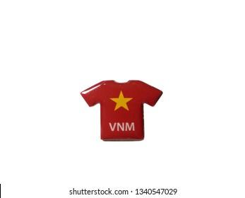 05ff23e76b5 Tshirt Design Flag Vietnam Tshirt Vector Stock Vector (Royalty Free ...