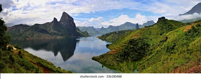 Vietnam landscape - Shutterstock ID 336180488