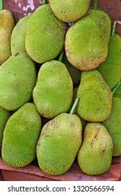 Vietnam, Mui Ne, durian fruits.