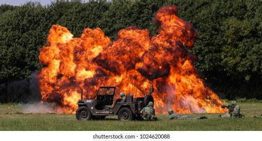 Vietnam Napalm strike