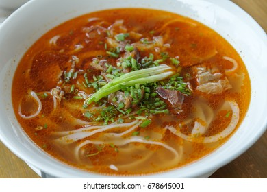 Vietnam rice noodle Bun Bo