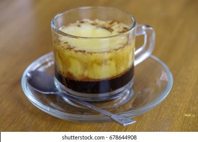 Vietnam style egg coffee
