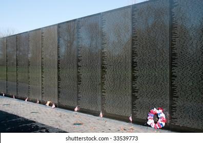 Vietnam Veterans Memorial and reflection