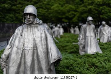 Vietnam Veterans Memorial in Washington DC