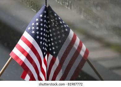Vietnam Wall Memorial Flag in Washington, DC