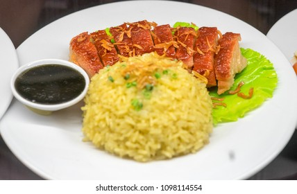 Vietnamese duck breast with rice