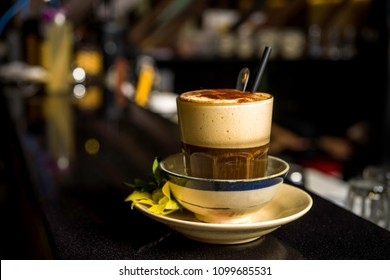 Vietnamese Egg Cream Coffee in Hanoi, Vietnam