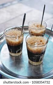 Vietnamese iced coffee - Ca phe sua da