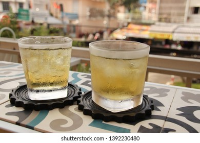 Vietnamese iced jasmine tea (tra lai), a favourite to quench the summer heat in Vietnam