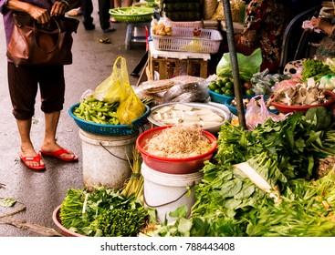Vietnamese market place