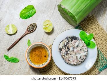 Vietnamese pork roll (gio xao or gio thu)