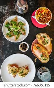 Vietnamese Southeast Asian Breakfast Brunch Lunch Spread