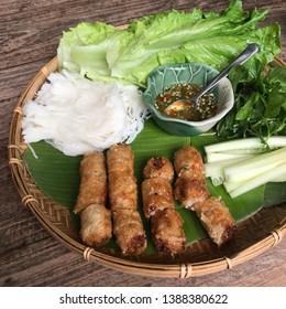 Vietnamese traditional food in Vientnam