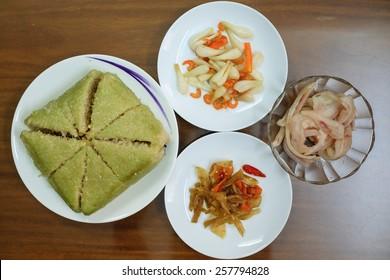 Gâteau de riz traditionnel vietnamien