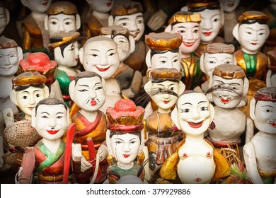 Vietnamese water puppets in Hanoi, Vietnam