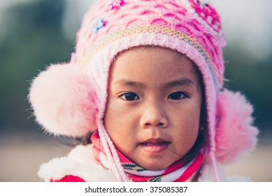 Vietnamese young girl - ethnic and traditional people