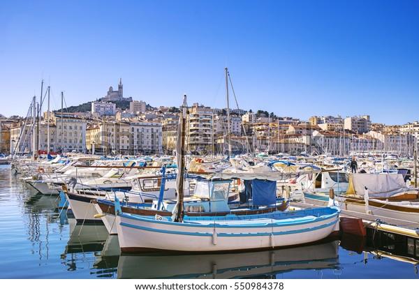 Vieux Port, Marseille, Provence, France