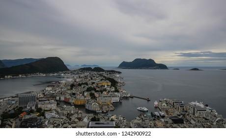 View of Aalesund