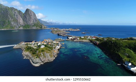 View from Aalesund in Norway