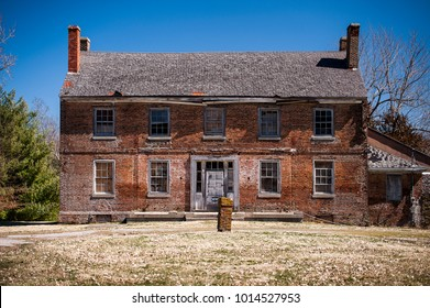 A view of the abandoned, historic Waveland residence in Danville, Kentucky.