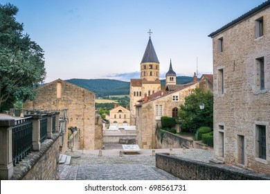 View of the Abbey Church of Cluny, Burgundy - France