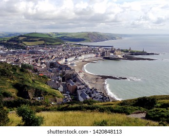 A view of Aberystwyth from Constitution Hill