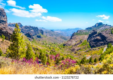 View above. Gran Canaria, Canary Islands, Spain.