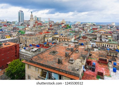 View from above of the Havana city.