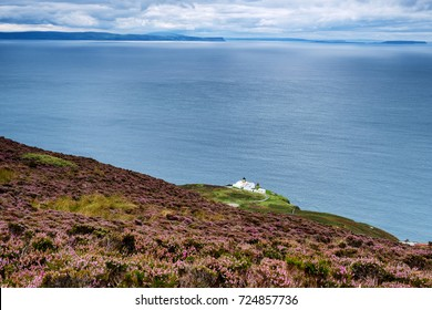 A view from above Mull of Kintyre lighthouse, Scotland