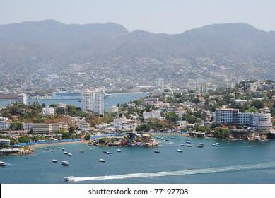 View of Acapulco, Mexico