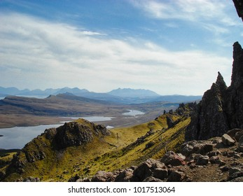 View across the highlands
