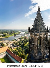 View across Magdeburg, Germany