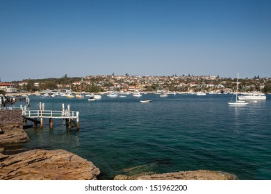 View across Watsons Bay in Sydney, Australia