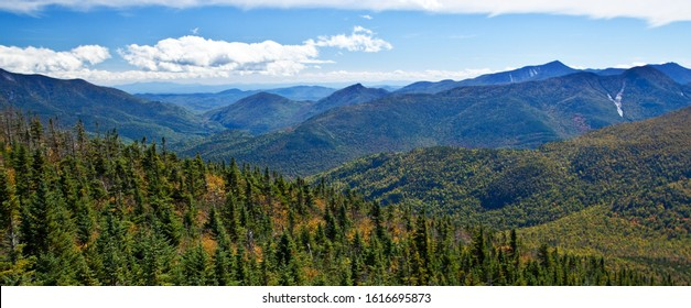 View of the Adirondack High Peaks from Prospect Mountain